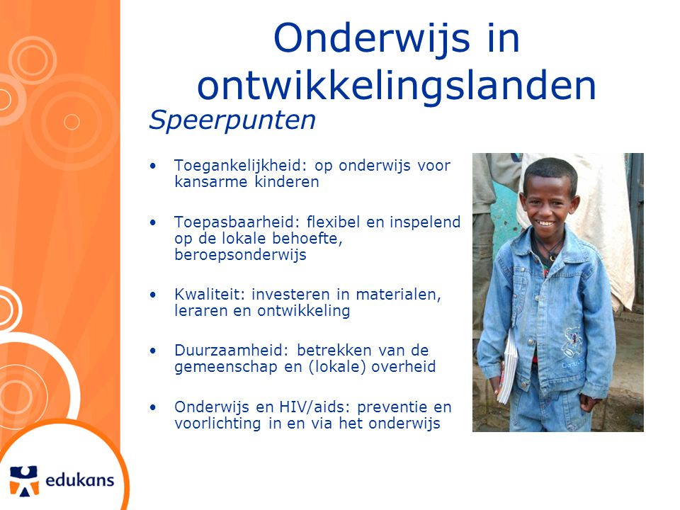 Onderwijs in ontwikkelingslanden