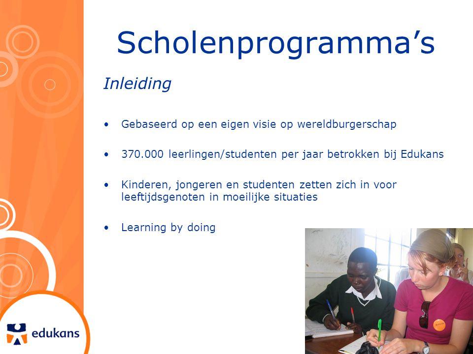 Scholenprogramma's Inleiding