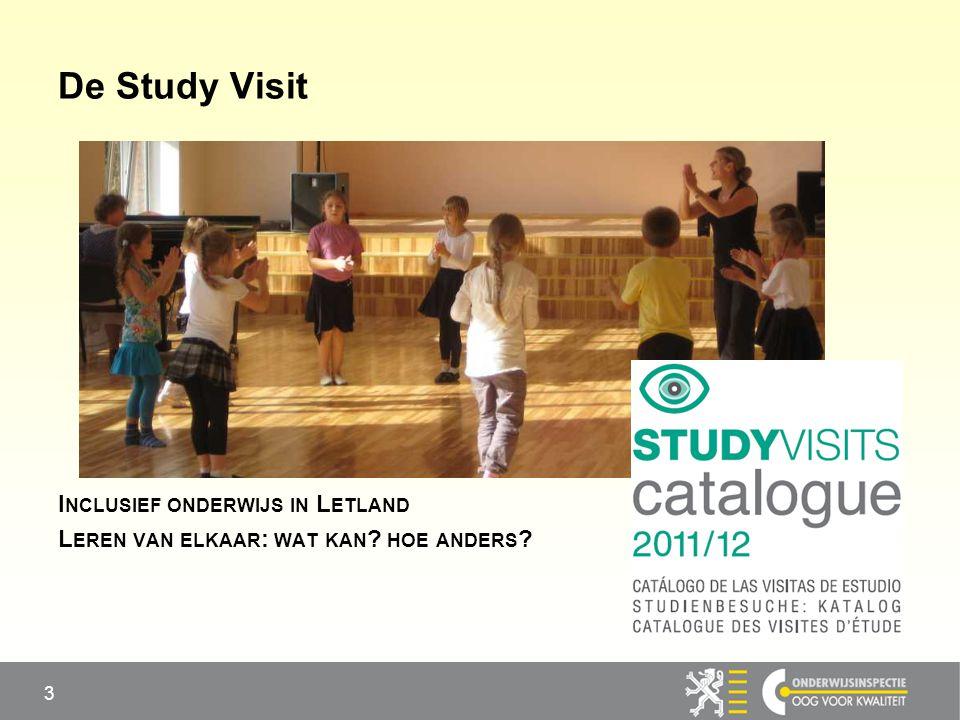 De Study Visit Inclusief onderwijs in Letland