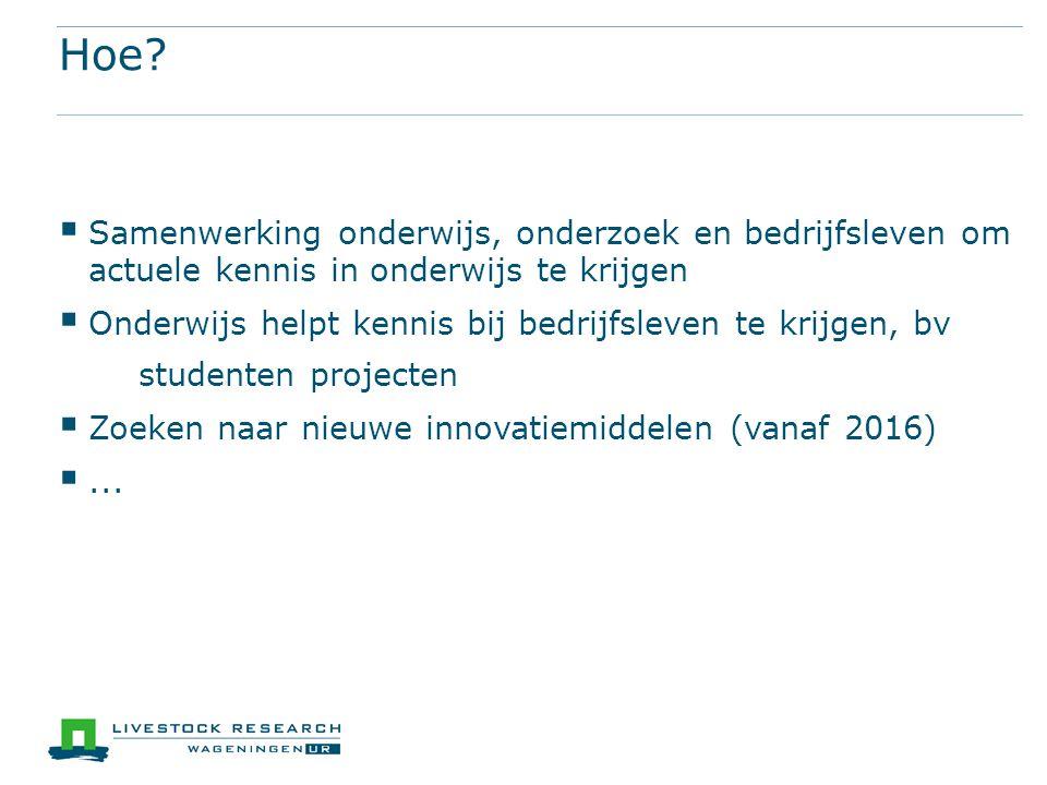 Hoe Samenwerking onderwijs, onderzoek en bedrijfsleven om actuele kennis in onderwijs te krijgen.