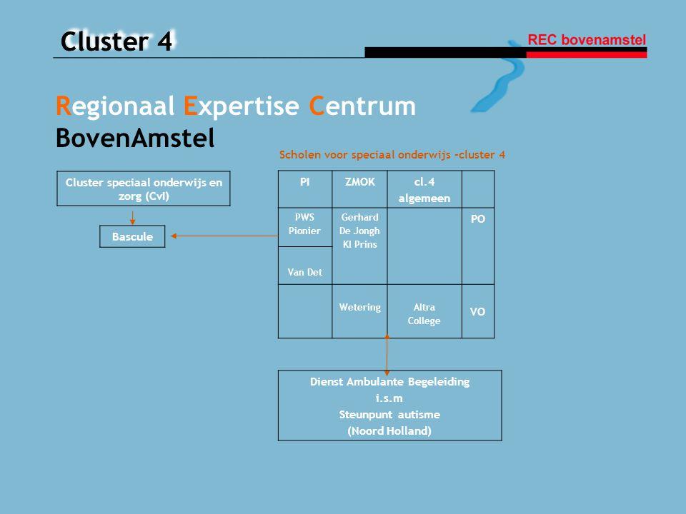 Cluster speciaal onderwijs en zorg (CvI) Dienst Ambulante Begeleiding