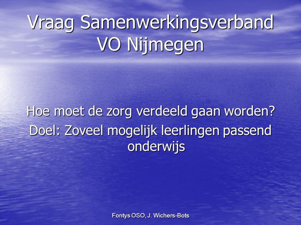 Vraag Samenwerkingsverband VO Nijmegen