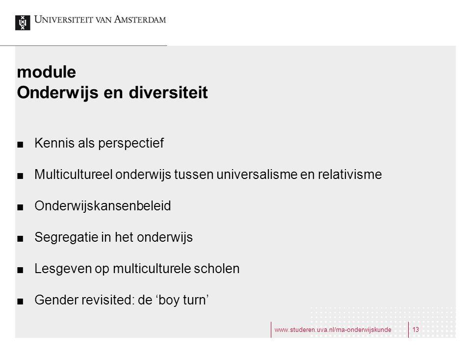 Onderwijs en diversiteit