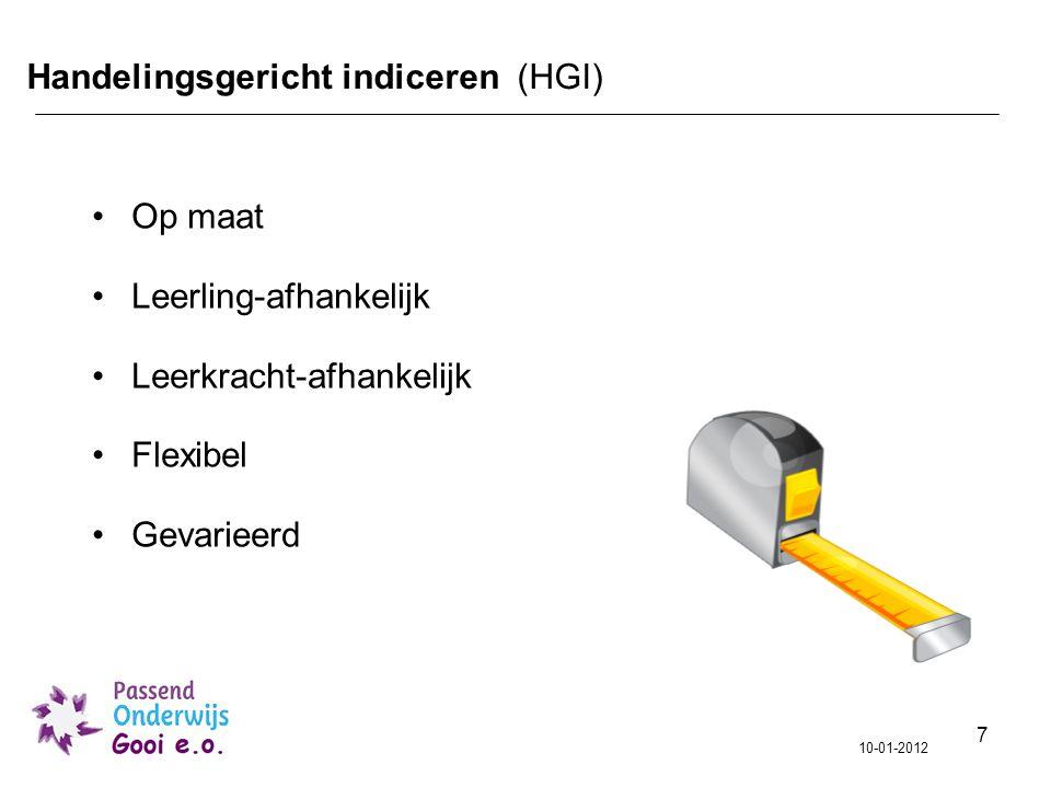 Handelingsgericht indiceren (HGI)