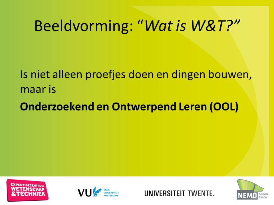 Beeldvorming: Wat is W&T