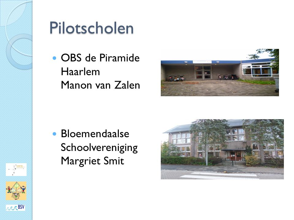 Pilotscholen OBS de Piramide Haarlem Manon van Zalen