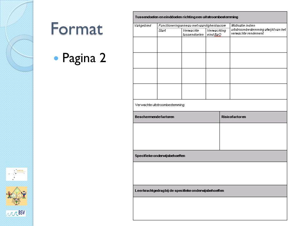 Format Pagina 2