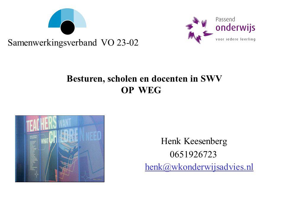 Henk Keesenberg 0651926723 henk@wkonderwijsadvies.nl