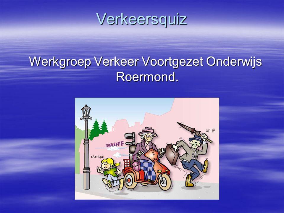 Werkgroep Verkeer Voortgezet Onderwijs Roermond.