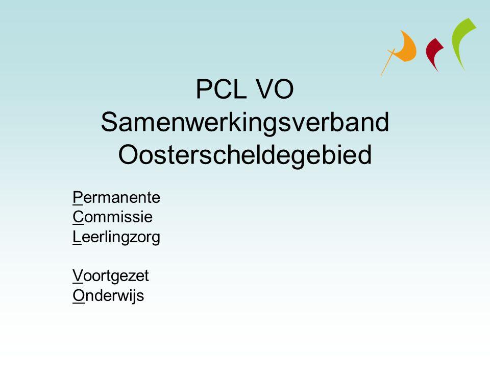 PCL VO Samenwerkingsverband Oosterscheldegebied
