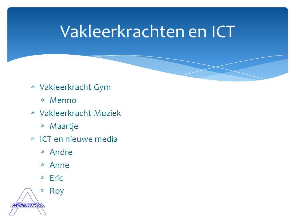 Vakleerkrachten en ICT