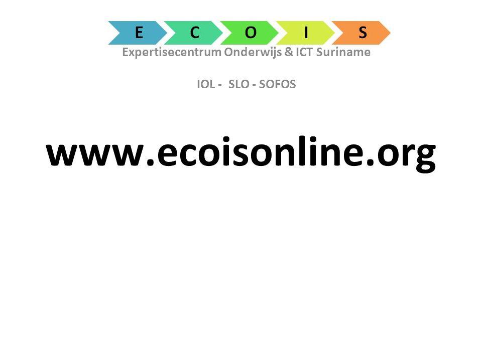 Expertisecentrum Onderwijs & ICT Suriname