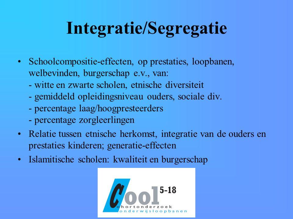 Integratie/Segregatie