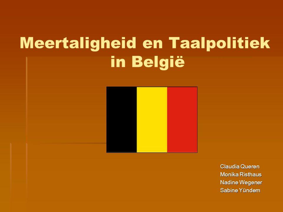 Meertaligheid en Taalpolitiek in België