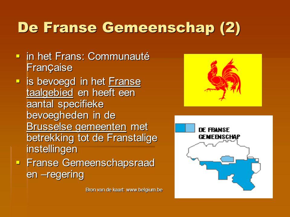 De Franse Gemeenschap (2)