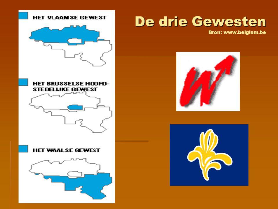 De drie Gewesten Bron: www.belgium.be