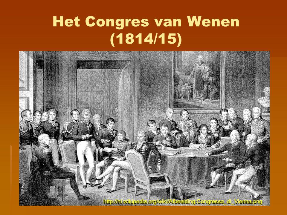 Het Congres van Wenen (1814/15)