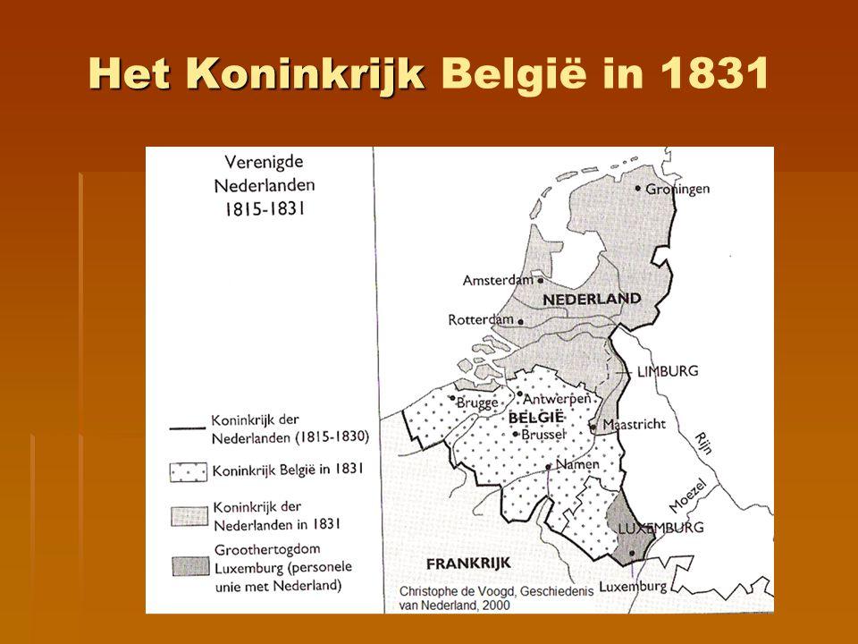 Het Koninkrijk België in 1831