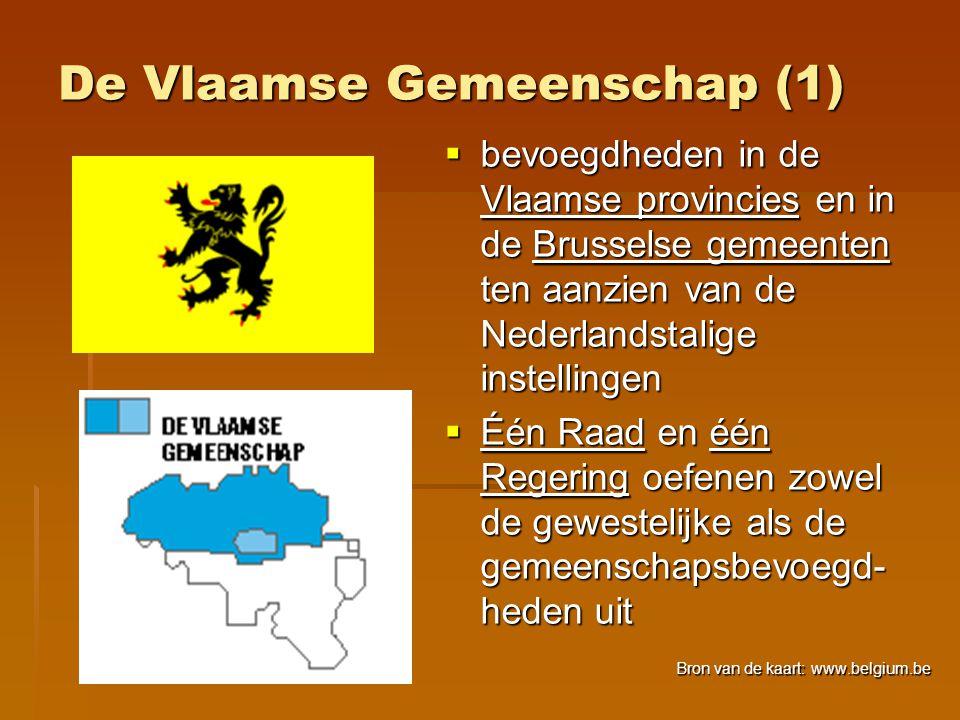 De Vlaamse Gemeenschap (1)