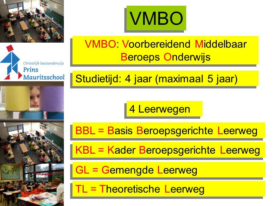 VMBO: Voorbereidend Middelbaar