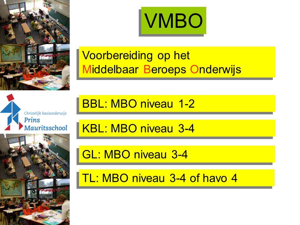 VMBO Voorbereiding op het Middelbaar Beroeps Onderwijs