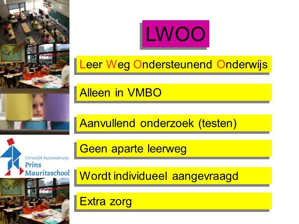 LWOO Leer Weg Ondersteunend Onderwijs Alleen in VMBO