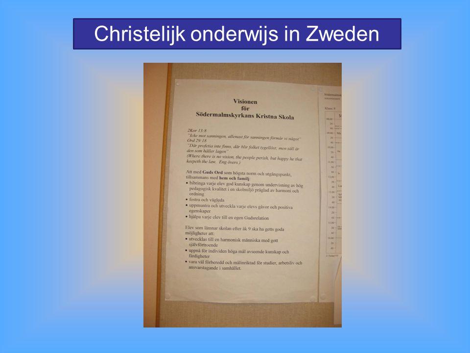 Christelijk onderwijs in Zweden