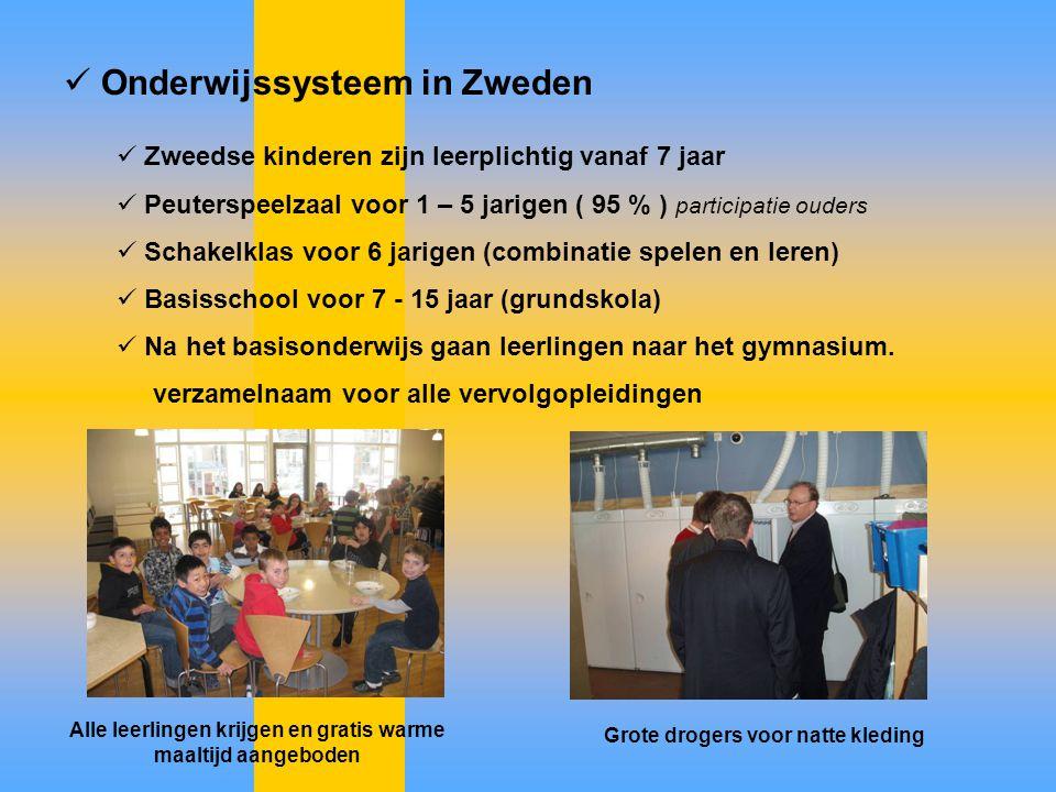 Onderwijssysteem in Zweden
