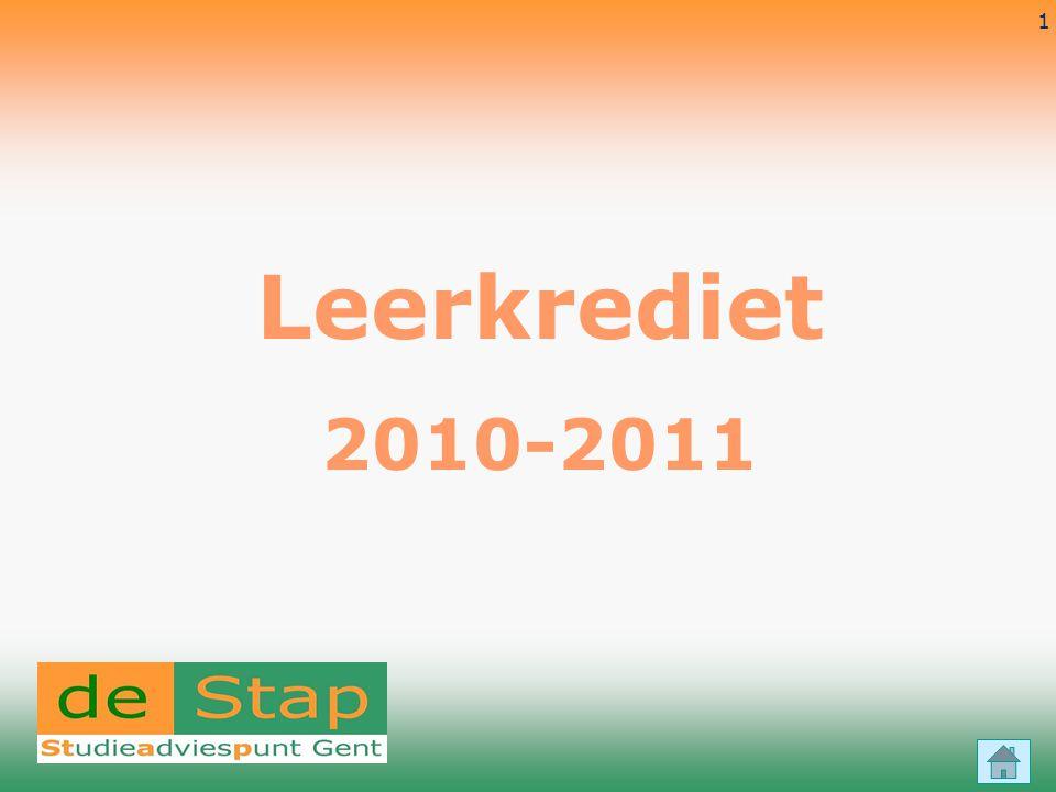 Leerkrediet 2010-2011 4-4-2017