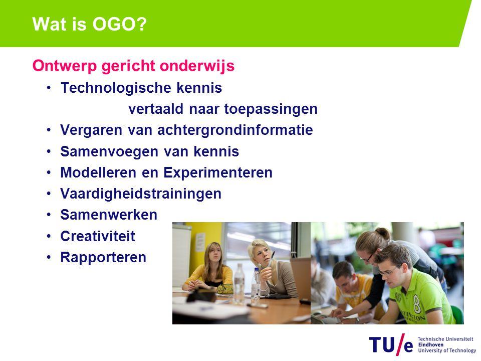 Wat is OGO Groepsonderwijs Wisselende groepssamenstelling Tutor