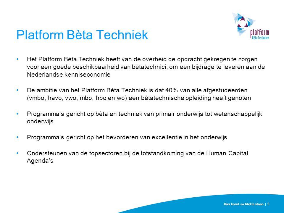 Platform Bèta Techniek