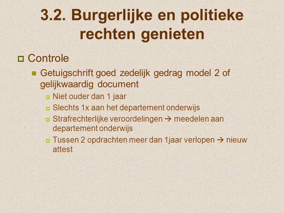 3.2. Burgerlijke en politieke rechten genieten