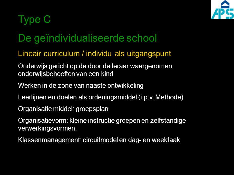 De geïndividualiseerde school