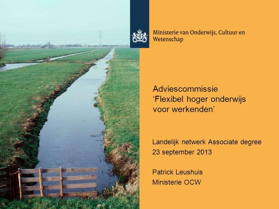 Adviescommissie 'Flexibel hoger onderwijs voor werkenden'