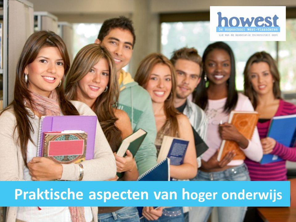 Praktische aspecten van hoger onderwijs