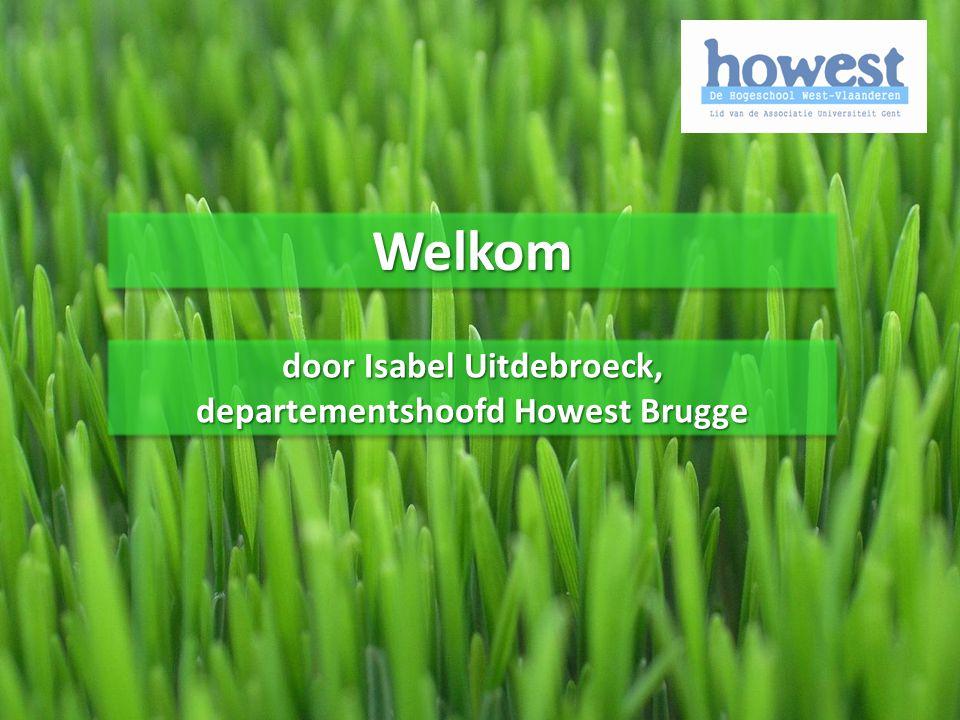 door Isabel Uitdebroeck, departementshoofd Howest Brugge