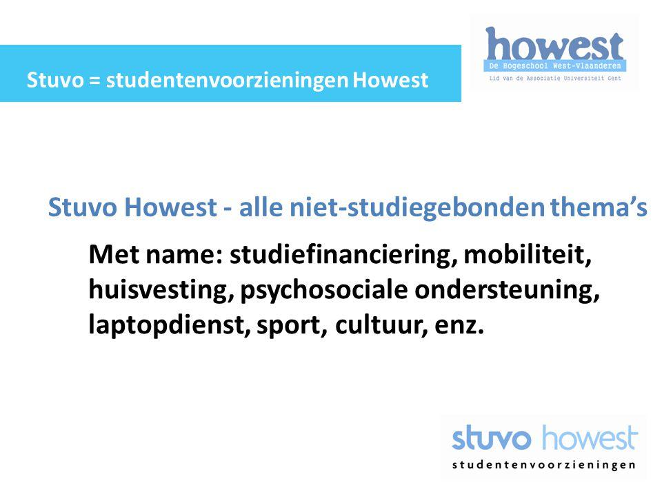 Stuvo Howest - alle niet-studiegebonden thema's