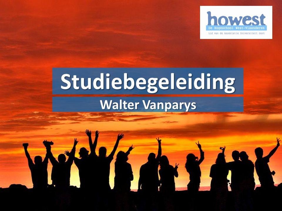 Studiebegeleiding OER Walter Vanparys