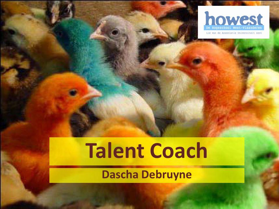Talent Coach Dascha Debruyne