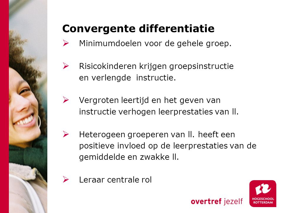 Convergente differentiatie