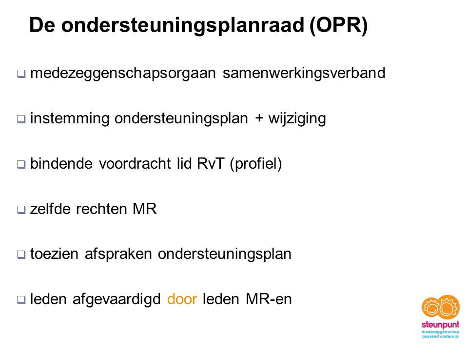 De ondersteuningsplanraad (OPR)
