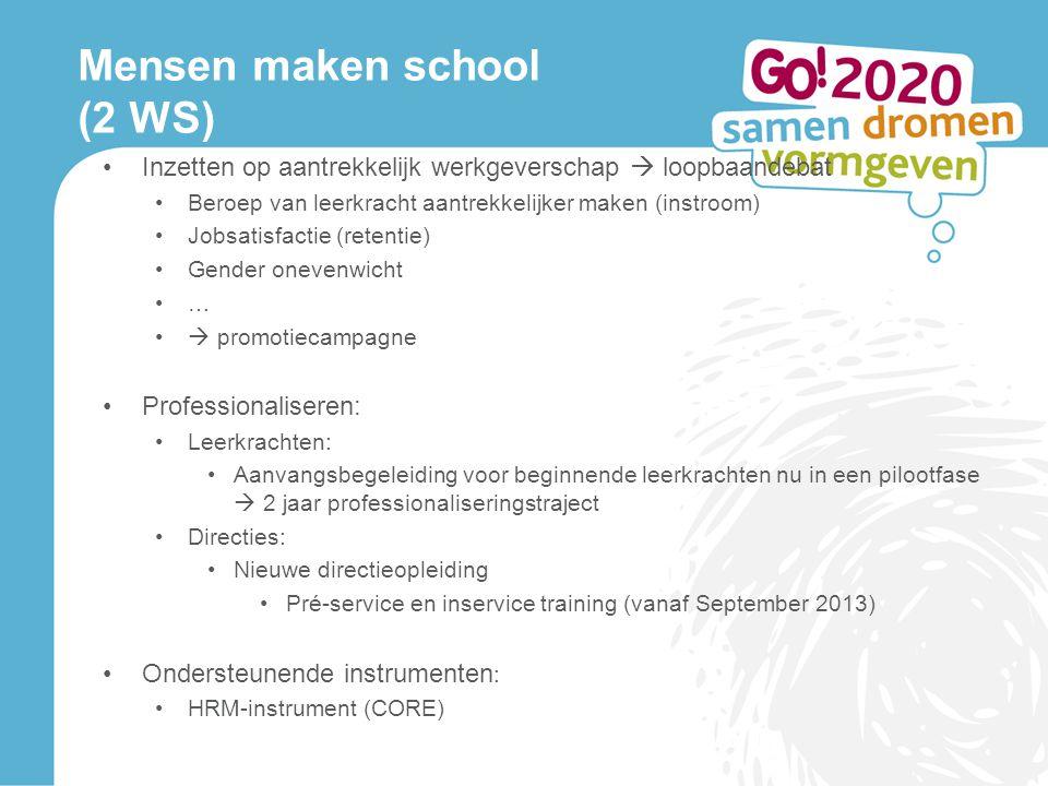 Mensen maken school (2 WS)