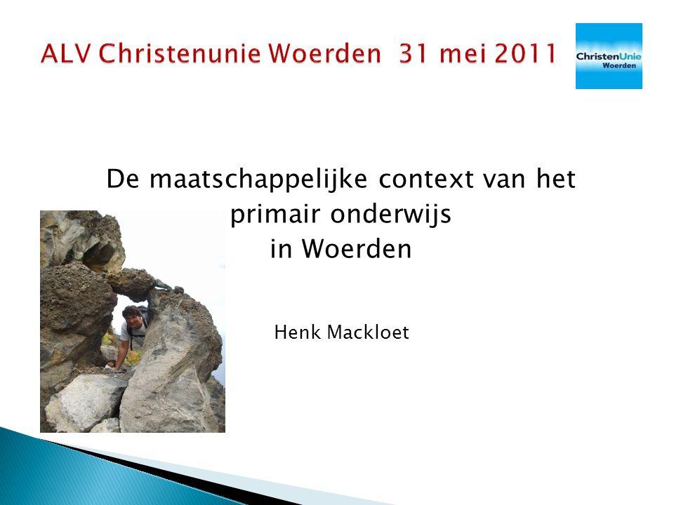 ALV Christenunie Woerden 31 mei 2011
