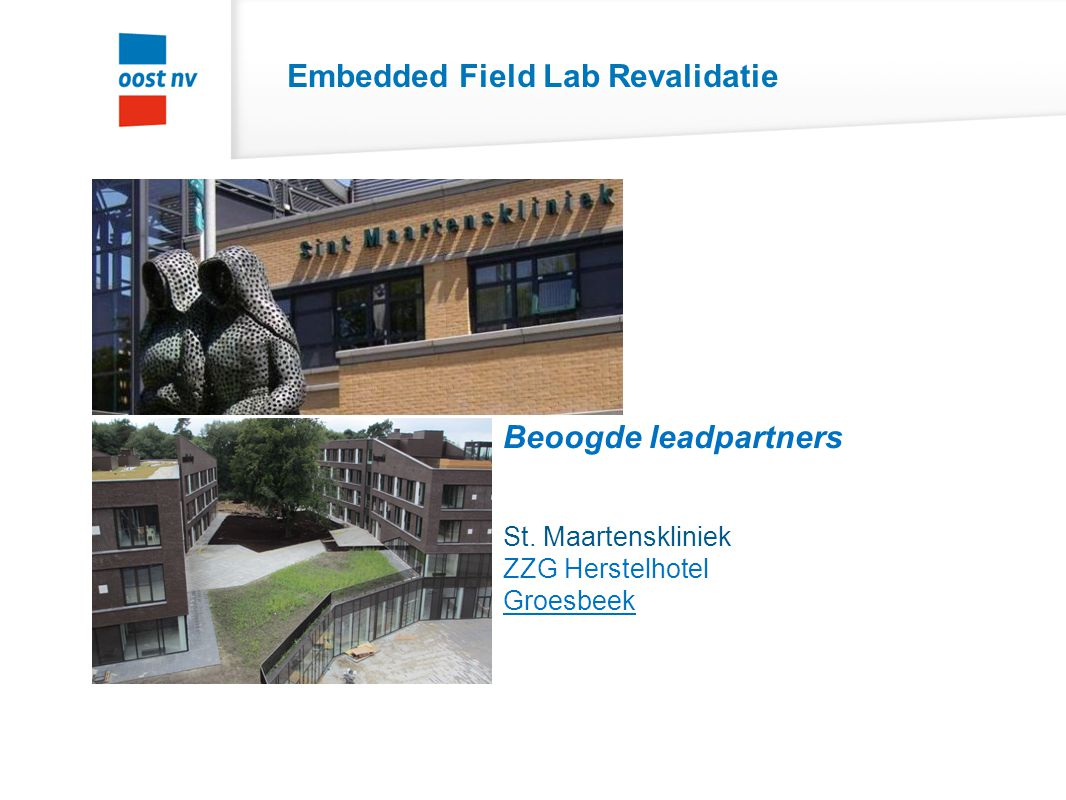 Embedded Field Lab Revalidatie