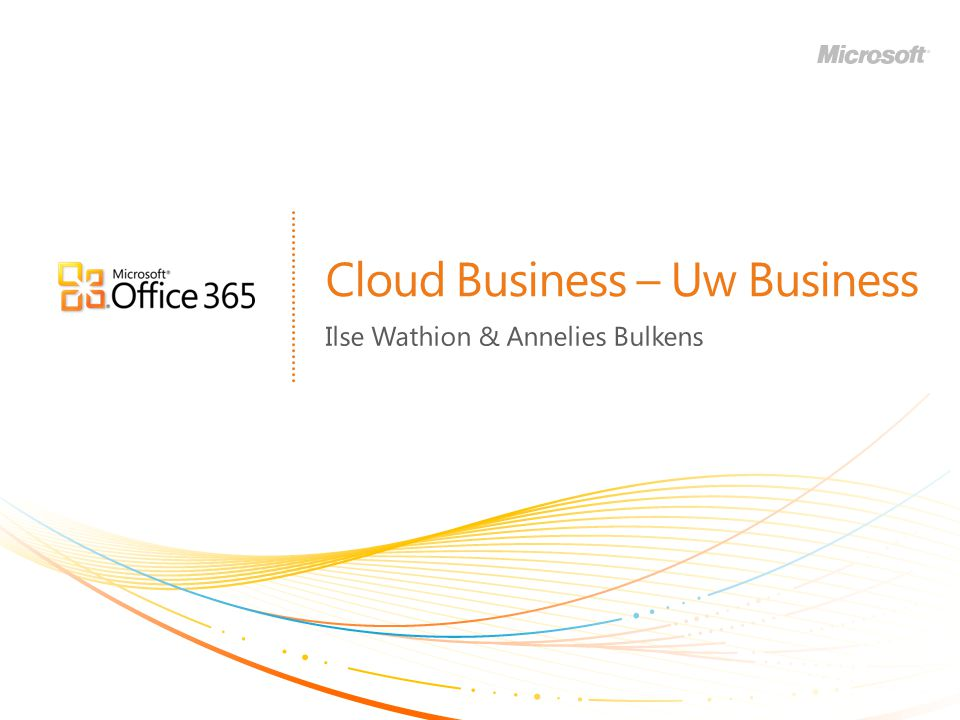 Cloud Business – Uw Business