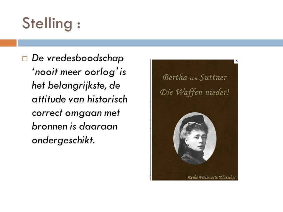 Stelling :