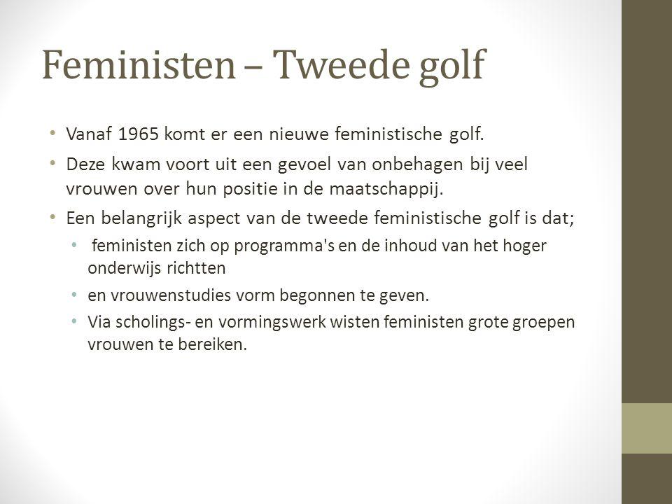 Feministen – Tweede golf