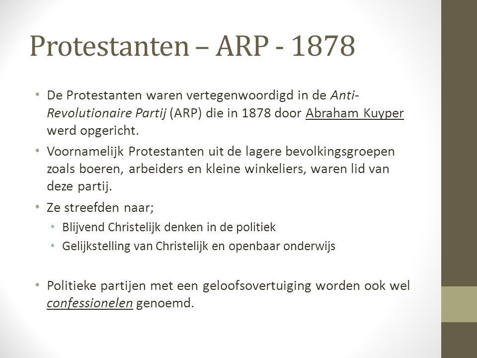 Protestanten – ARP - 1878