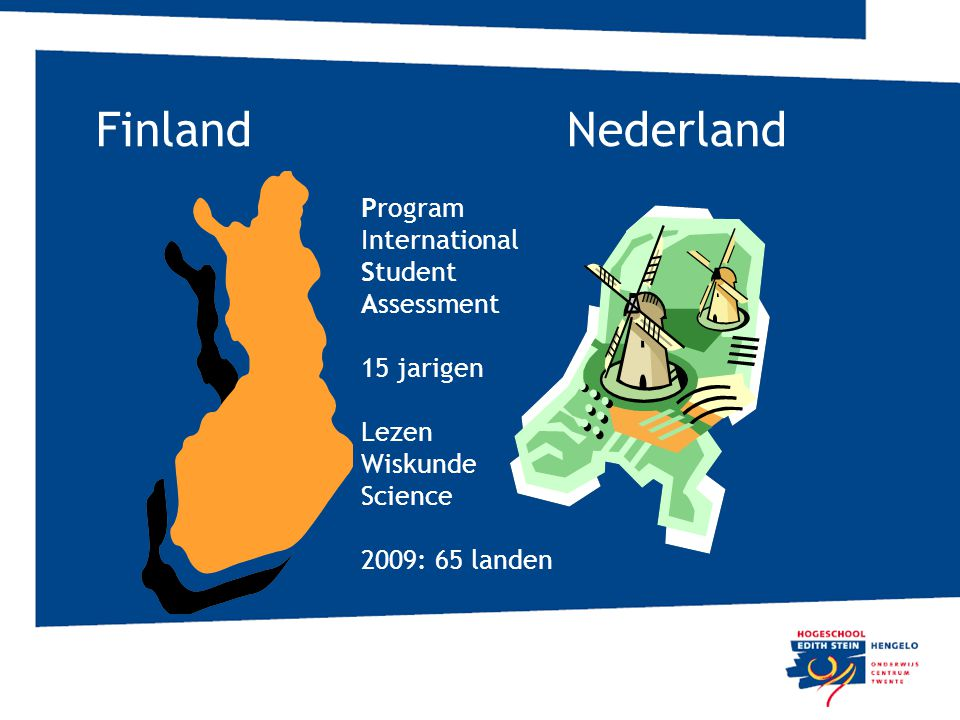 Finland Nederland Program International Student Assessment 15 jarigen