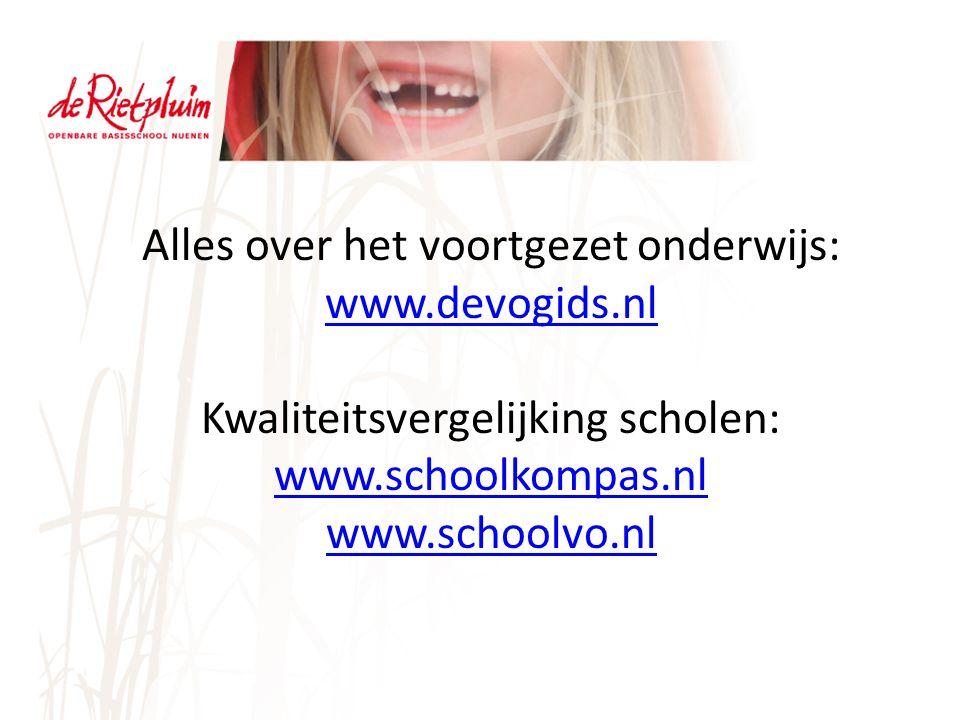 Alles over het voortgezet onderwijs: www.devogids.nl